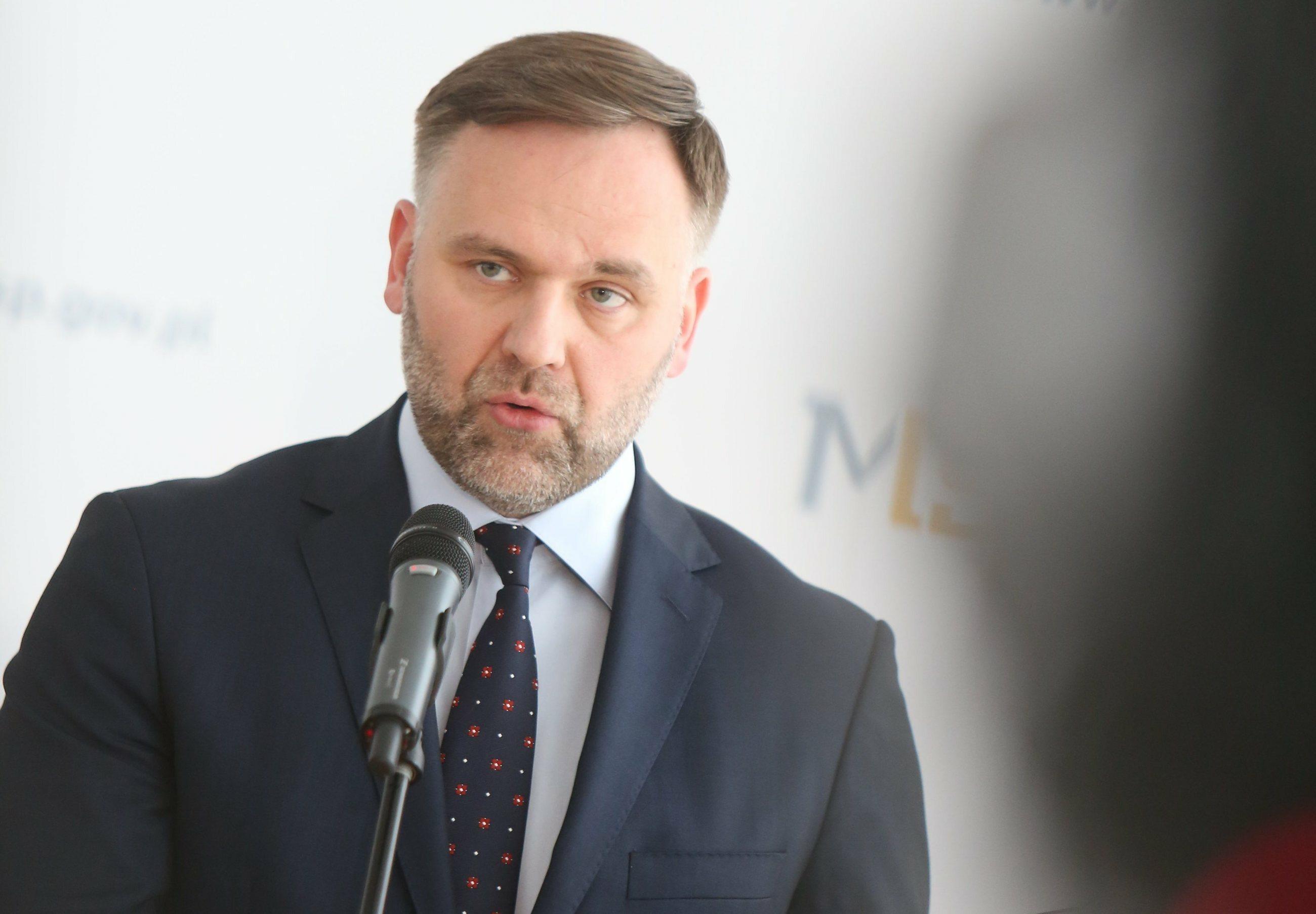 Dawid Jackiewicz, b. minister skarbu