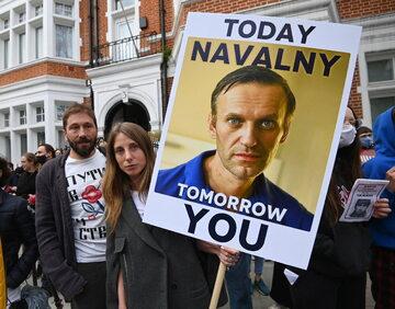 Demonstracja w obronie Aleksieja Nawalnego