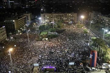 Demonstracja w Tel Awiwie