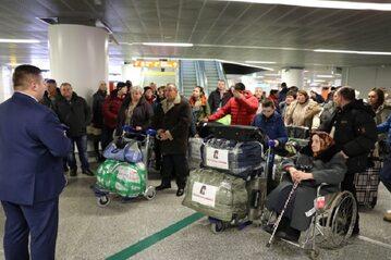 Do Polski przyjechała grupa repatriantów z Kazachstanu