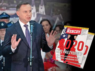 """""""Do Rzeczy"""" nr 1: 2020. Czyj prezydent? Kto będzie prezydentem Polski? Kto będzie prezydentem USA?"""