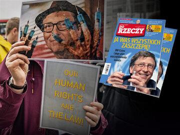 """""""Do Rzeczy"""" nr 17: Ja was wszystkich zaszczepię! Bill Gates i jego plan uszczęśliwienia świata"""