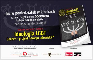 """Dodatek specjalny: """"Gender – projekt nowego człowieka?"""""""
