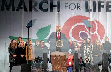 Donald Trump na 47. Marszu dla Życia w Waszyngtonie