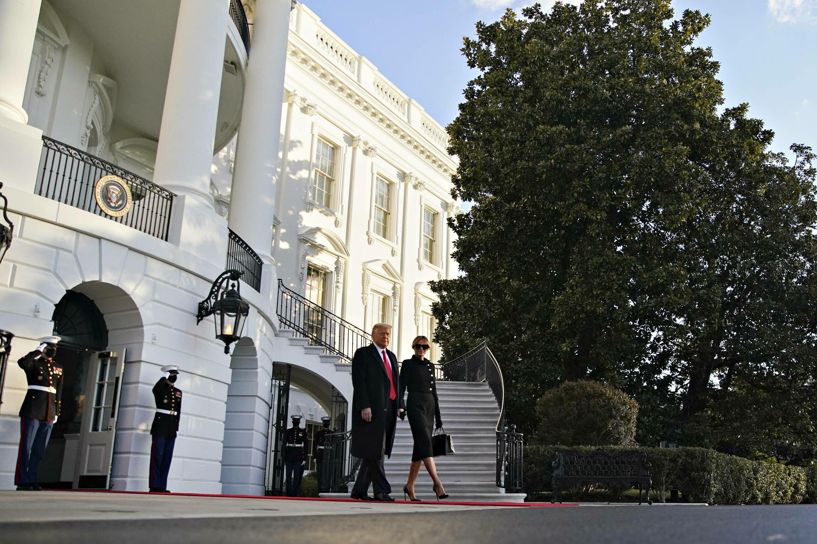 Donald Trump opuszcza Biały Dom