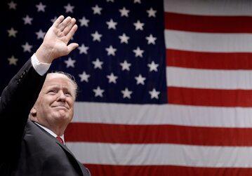 Donald Trump, prezydent USA