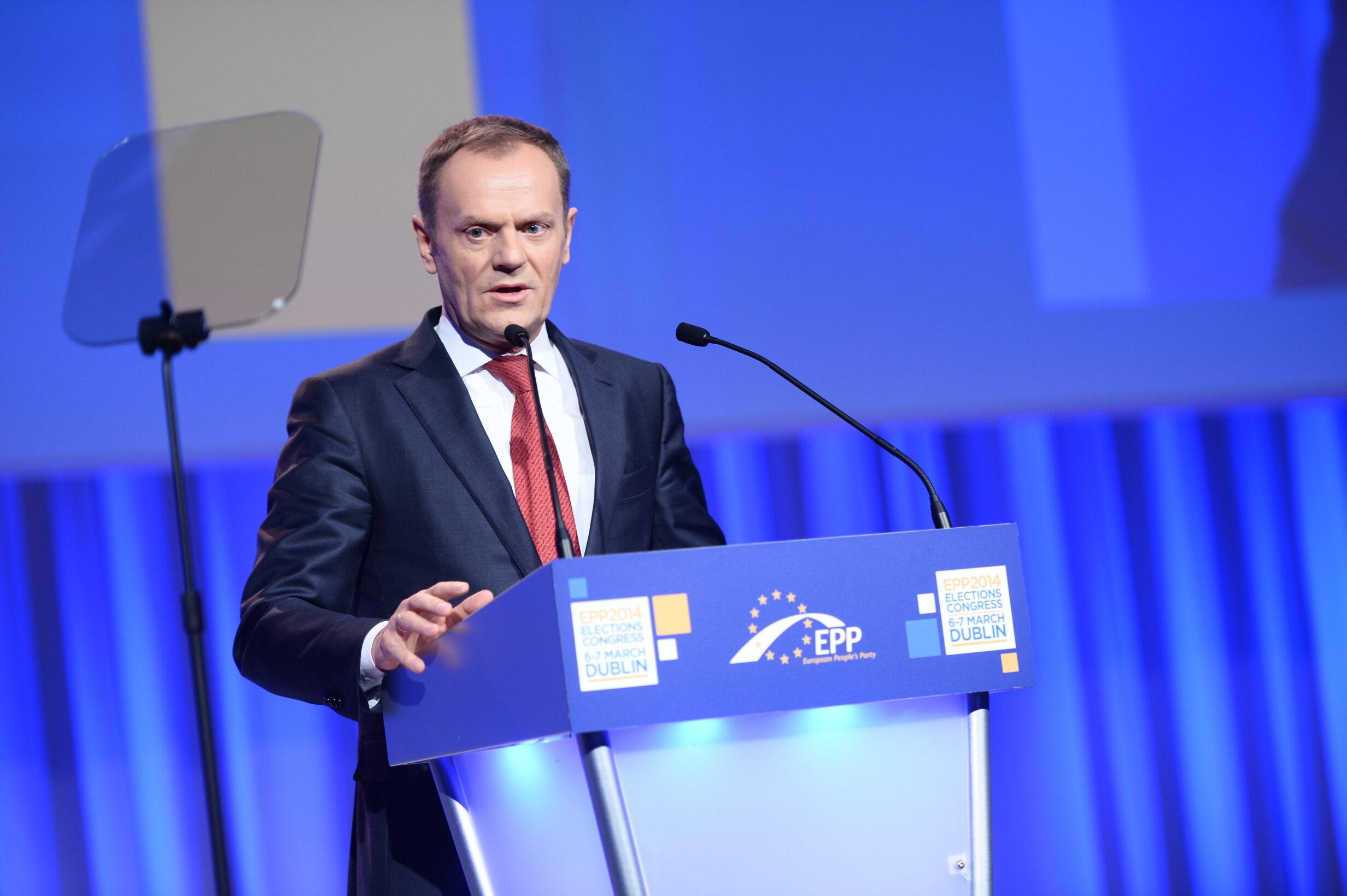 Donald Tusk, były szef Rady Europejskiej