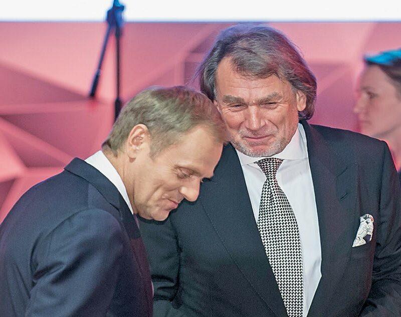 Donald Tusk i Jan Kulczyk