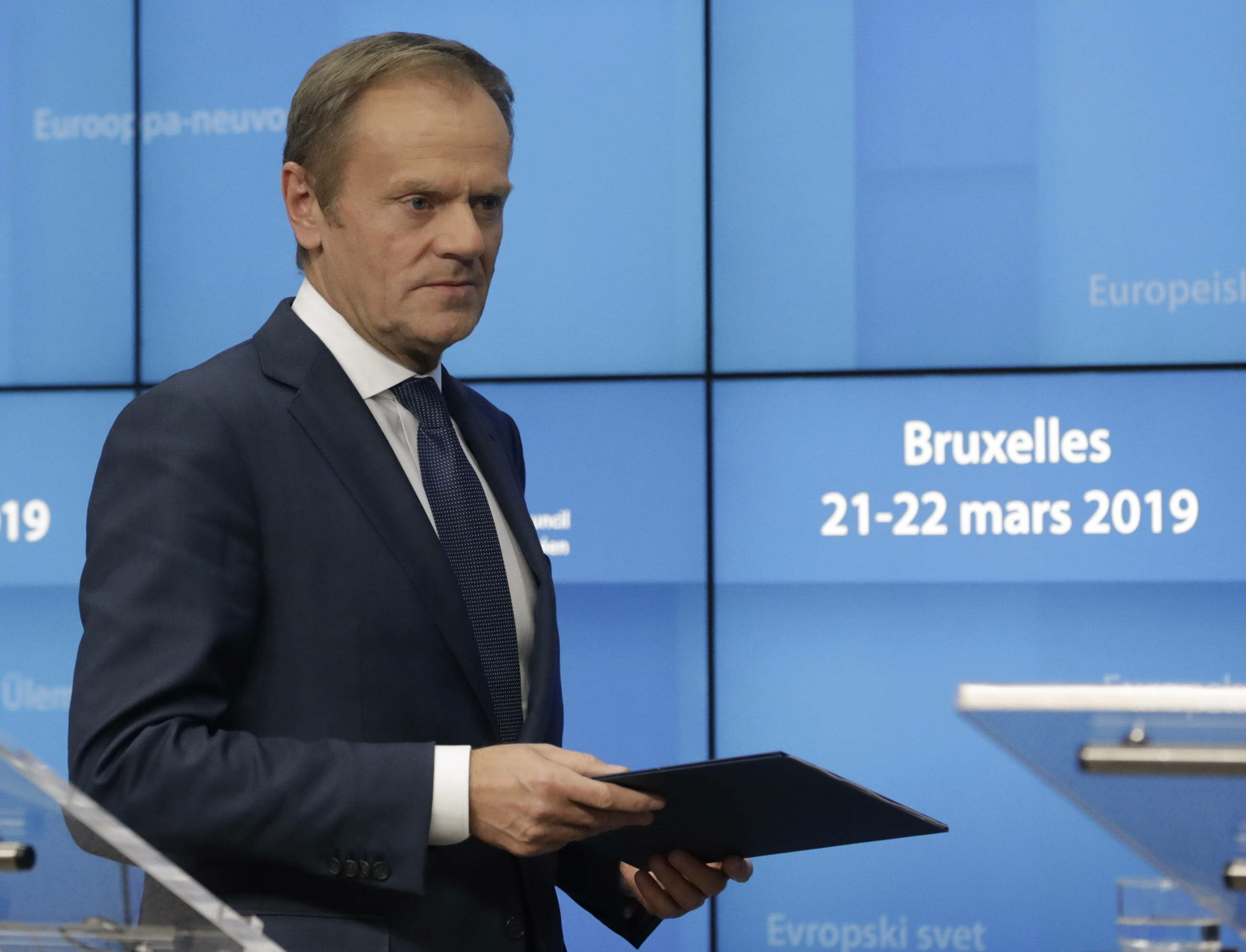 Donald Tusk w Brukseli