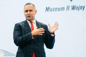 Dr Karol Nawrocki, dyrektor Muzeum II Wojny Światowej