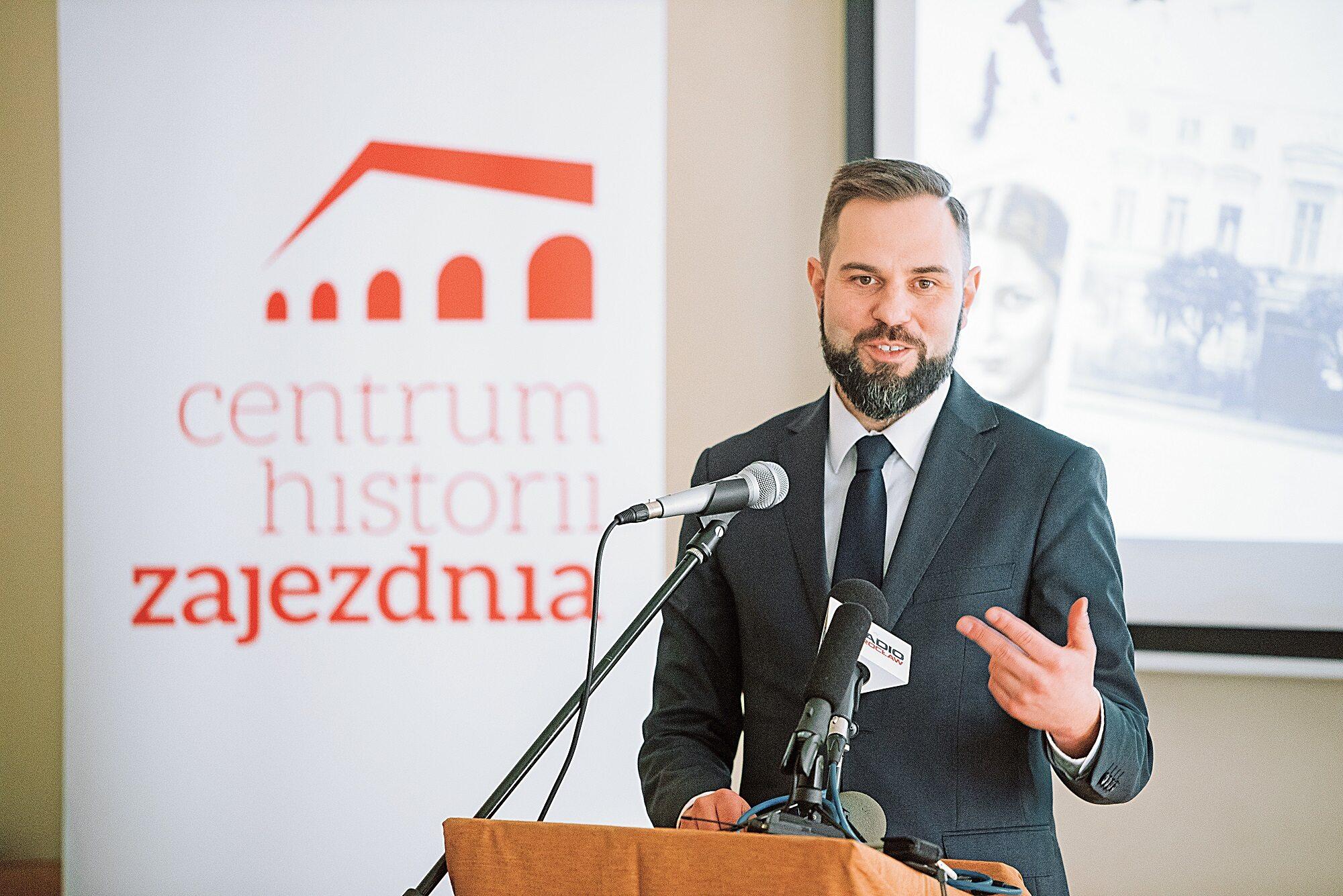 dr Marek Mutor, dyrektor Centrum Historii Zajezdnia we Wrocławiu