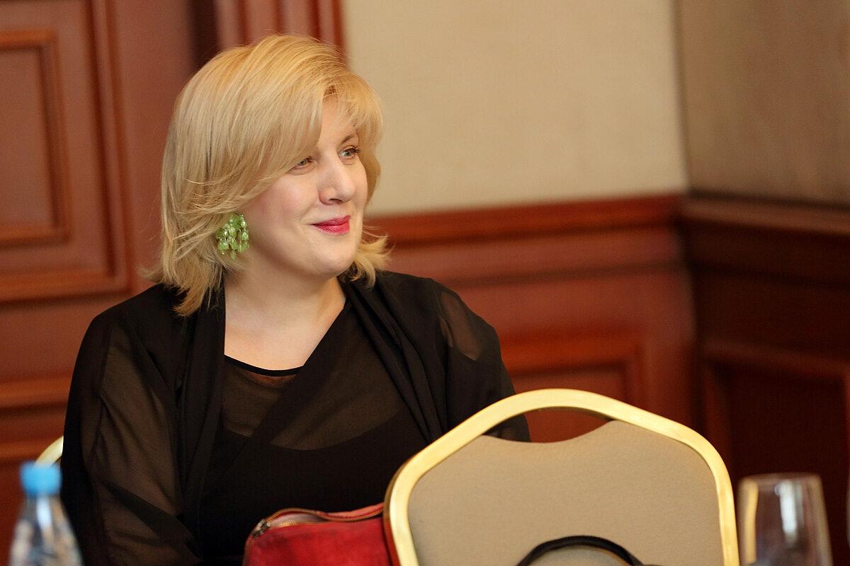 Dunja Mijatović, komisarz Rady Europy ds. praw człowieka