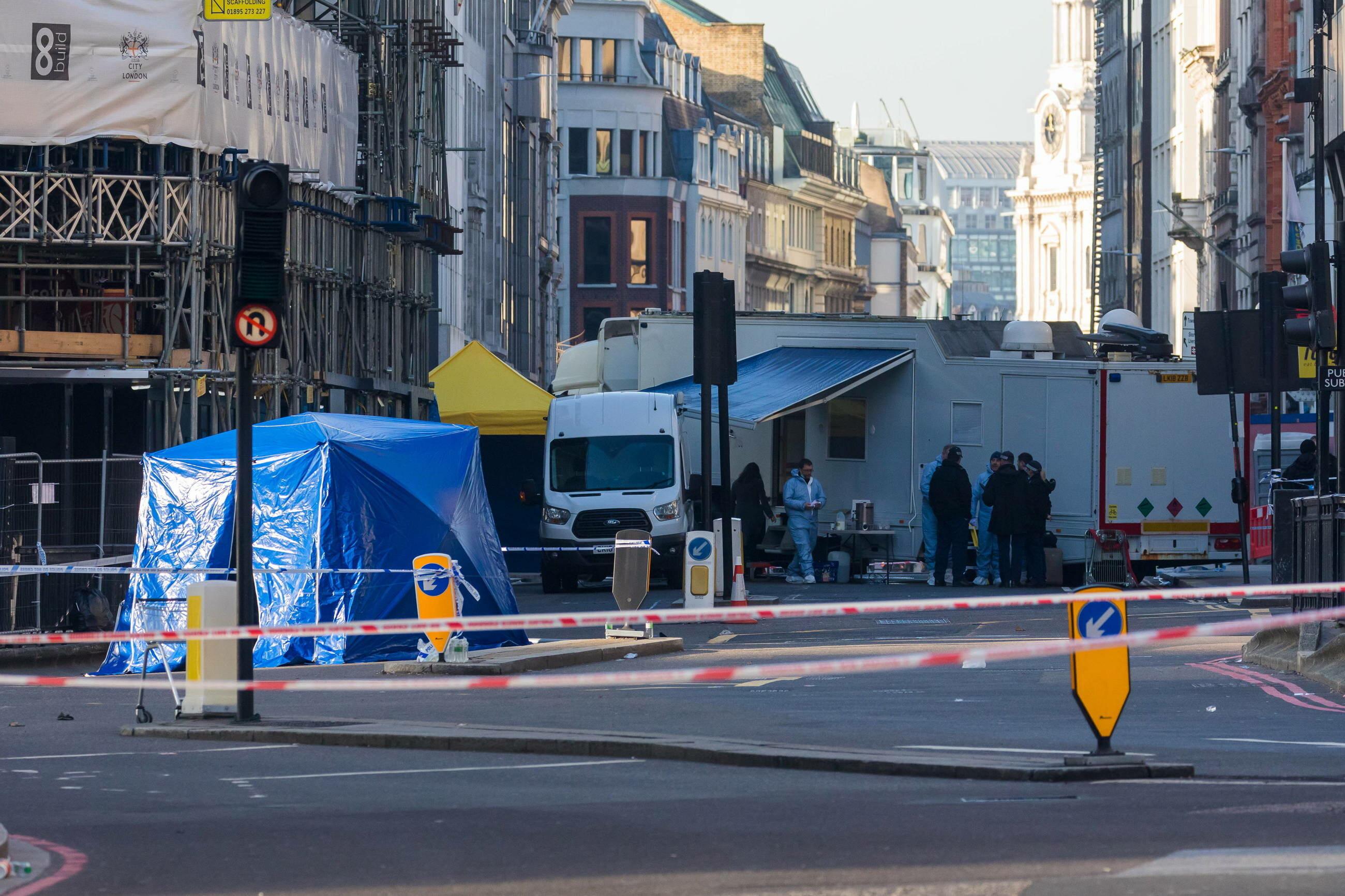 Dwie osoby zginęły w zamachu na London Bridge