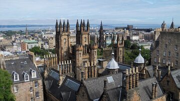 Edynburg, stolica Szkocja