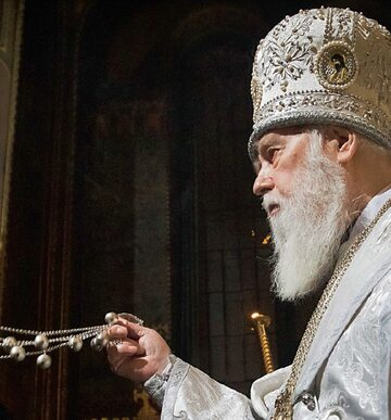 Ekskomunikowany przez Moskwę patriarcha Filaret