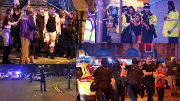 Eksplozja w Manchesterze
