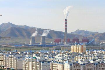 Elektrownia w Urumqi (zachodnie Chiny), zdjęcie ilustracyjne