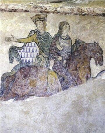 Eleonora Akwitańska. Wizerunek z kaplicy w Chinon