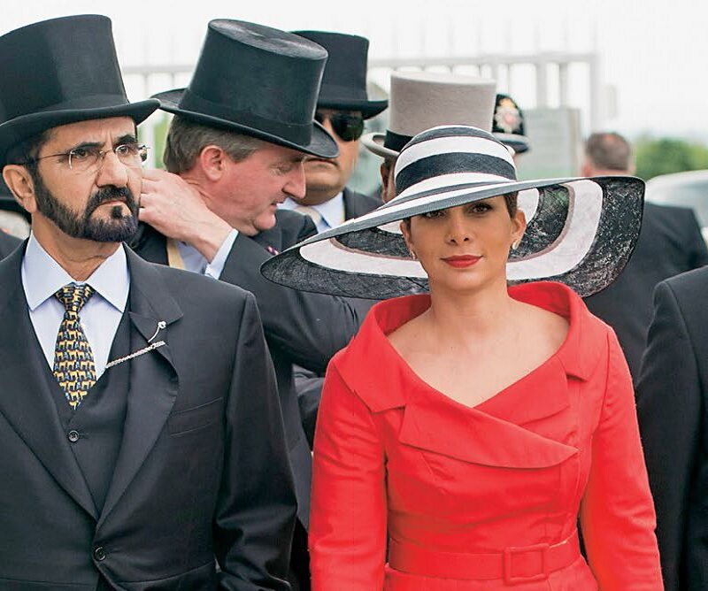 Emir Dubaju Mohammed bin Rashid al-Maktoum i księżna Haya bint al-Hussein