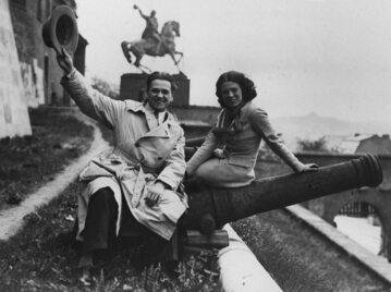 Eugeniusz Bodo i Nora Ney w 1934 roku