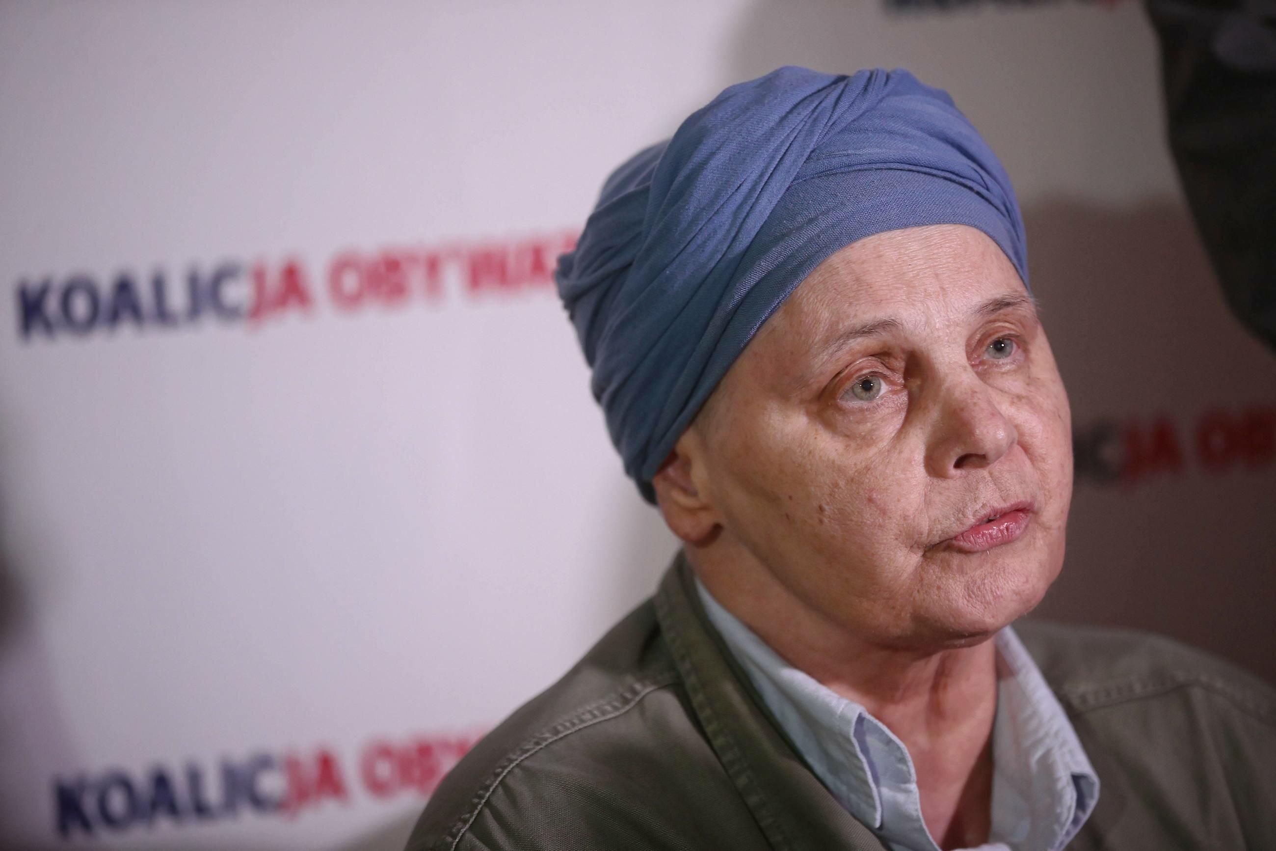 Europosłanka Janina Ochojska
