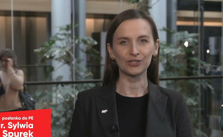 Europosłanka Sylwia Spurek