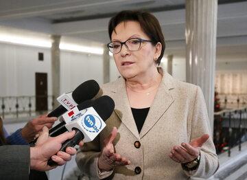 Ewa Kopacz, b. premier
