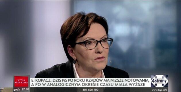 Ewa Kopacz, była premier
