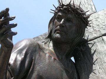 Figura Jezusa Chrystusa, zdjęcie ilustracyjne