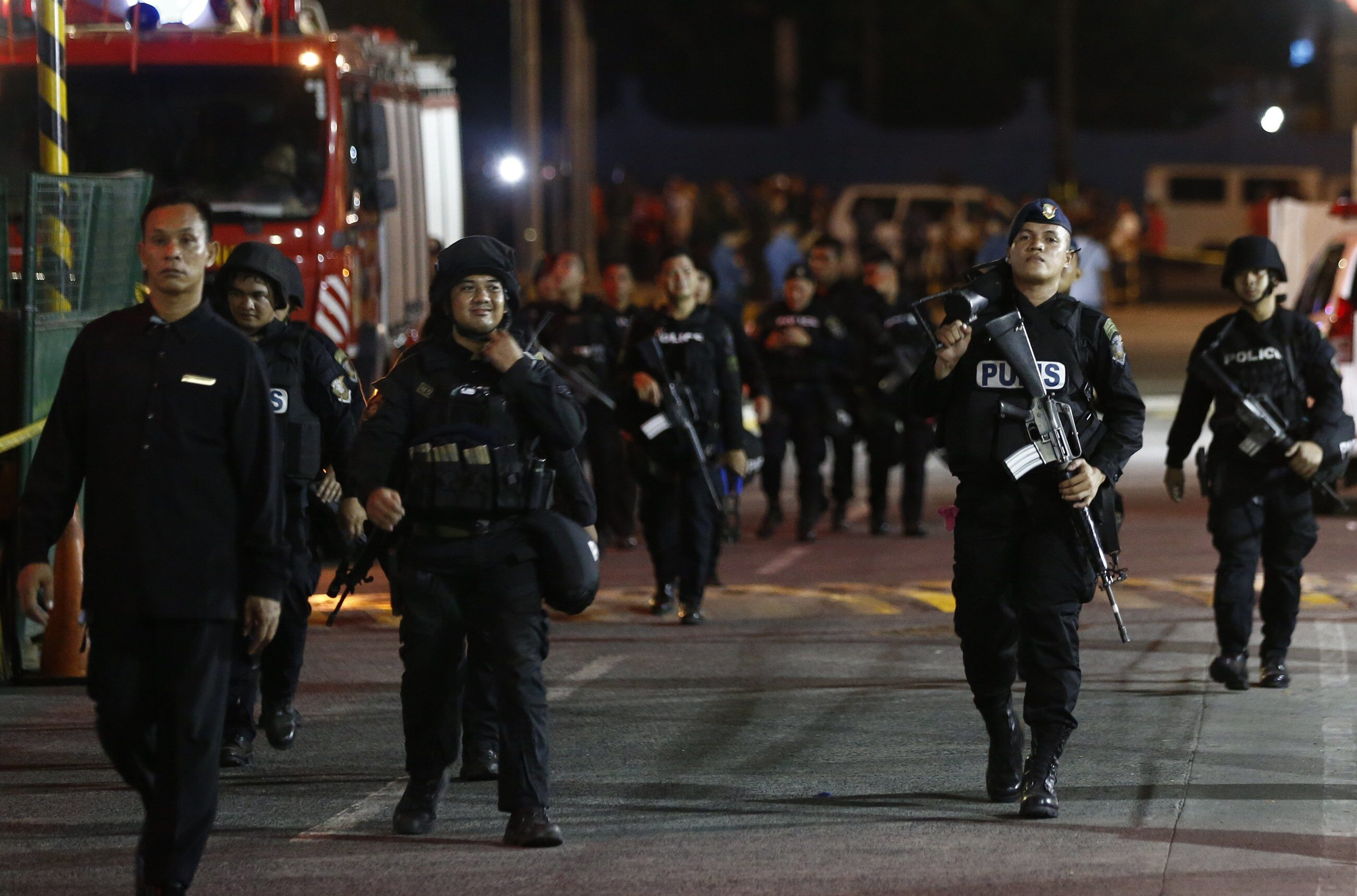 Filipiny, zamach na kompleks rozrywkowy