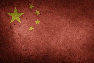 Flaga Chińskiej Republiki Ludowej, zdjęcie ilustracyjne