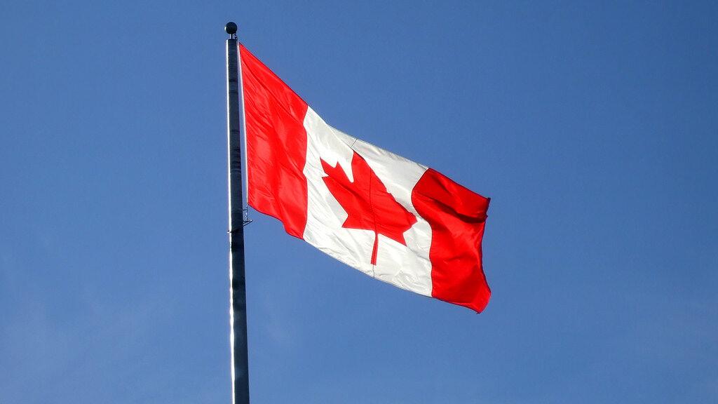 Flaga Kanady, zdjęcie ilustracyjne