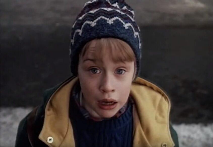 "Fragment filmu ""Kevin sam w Nowym Jorku"""