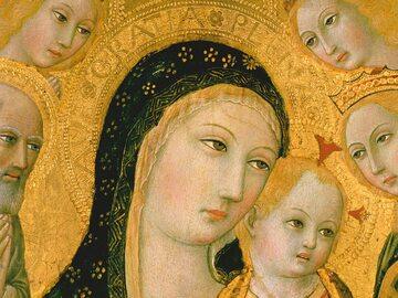 """Fragment okładki książki """"Maryja. Matka i Królowa"""""""