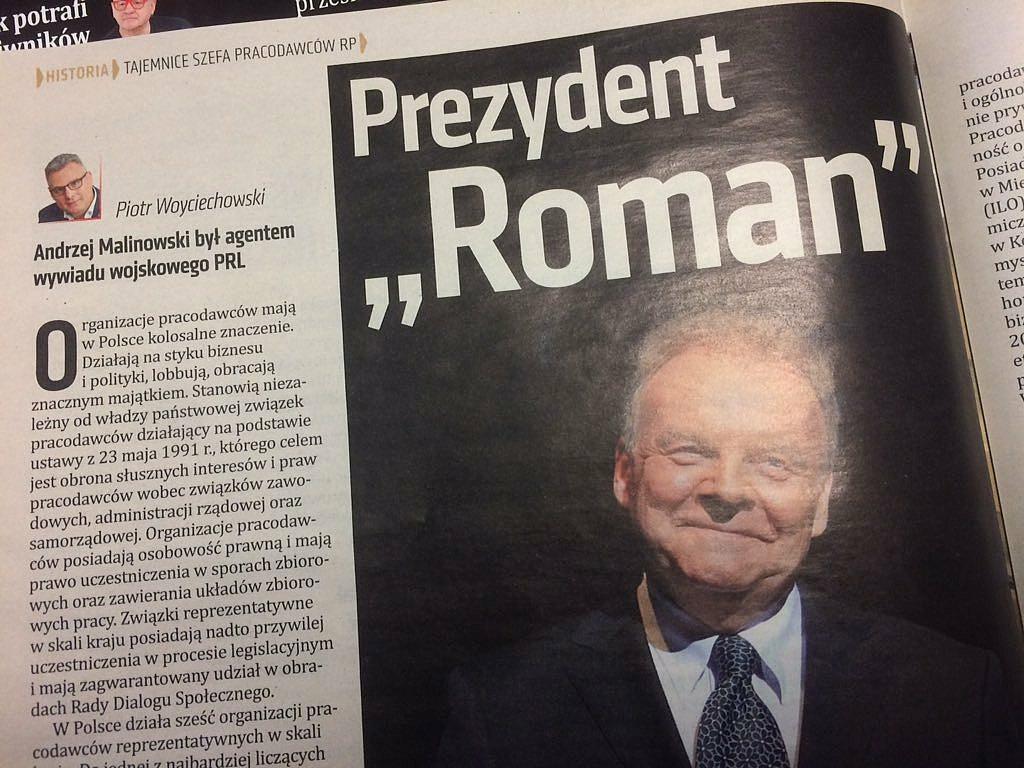 """Fragment tekstu Piotra Woyciechowskiego, który ukazał się w """"Do Rzeczy"""""""
