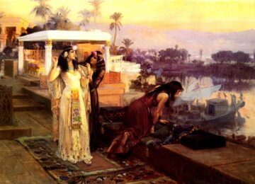 Frederick A. Bridgman, Kleopatra na tarasach wyspy File