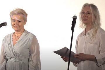 Gala zakończenia 40. Koszalińskiego Festiwalu Debiutów Filmowych Młodzi i Film. Aleksandra Konieczna i Manuela Gretkowska