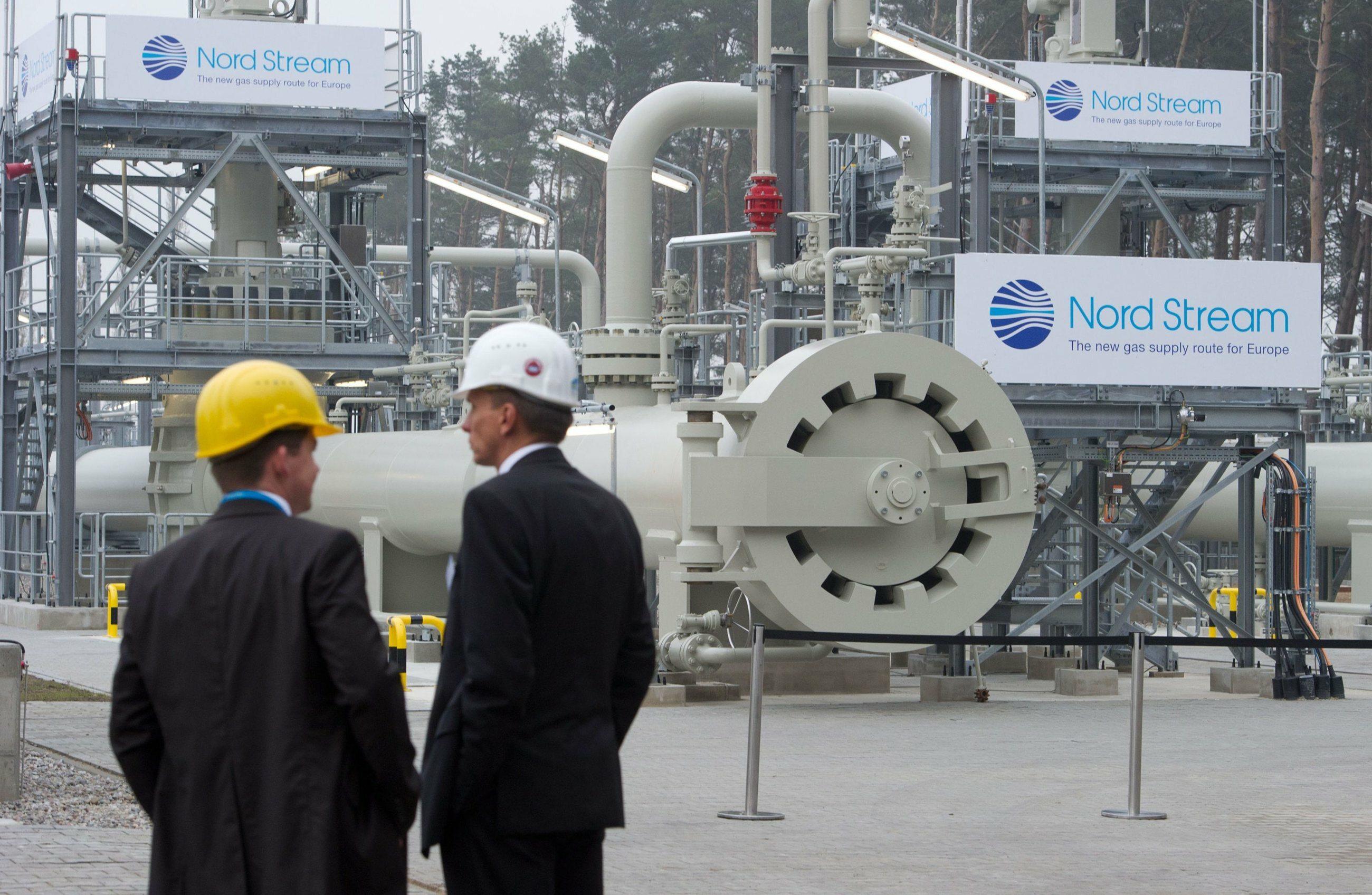 Gazociąg Nord Stream w Niemczech