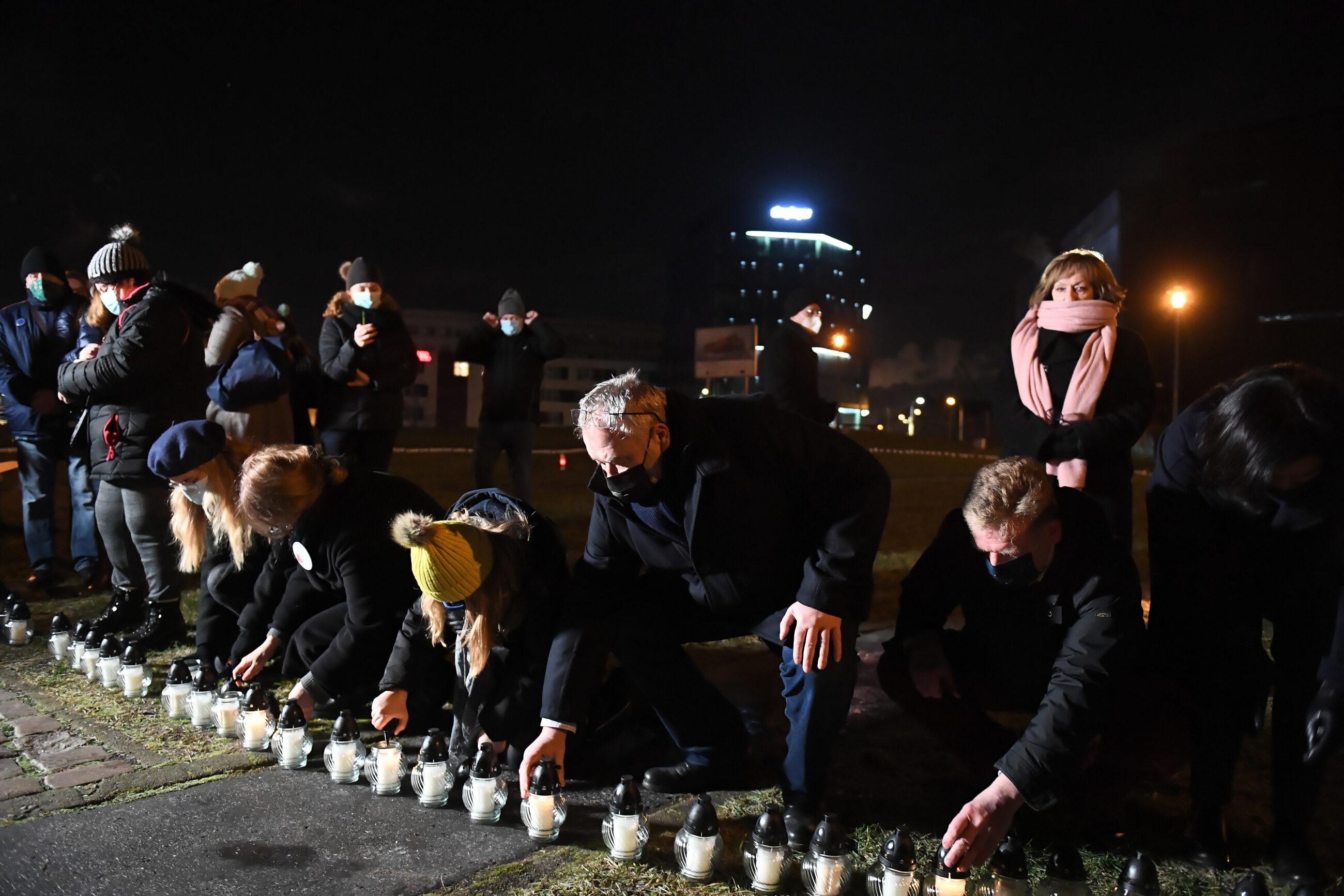 Gdańsk w drugą rocznicę śmierci prezydenta Pawła Adamowicza
