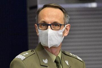 Gen. Grzegorz Gielerak, dyrektor Wojskowego Instytutu Medycznego w Warszawie