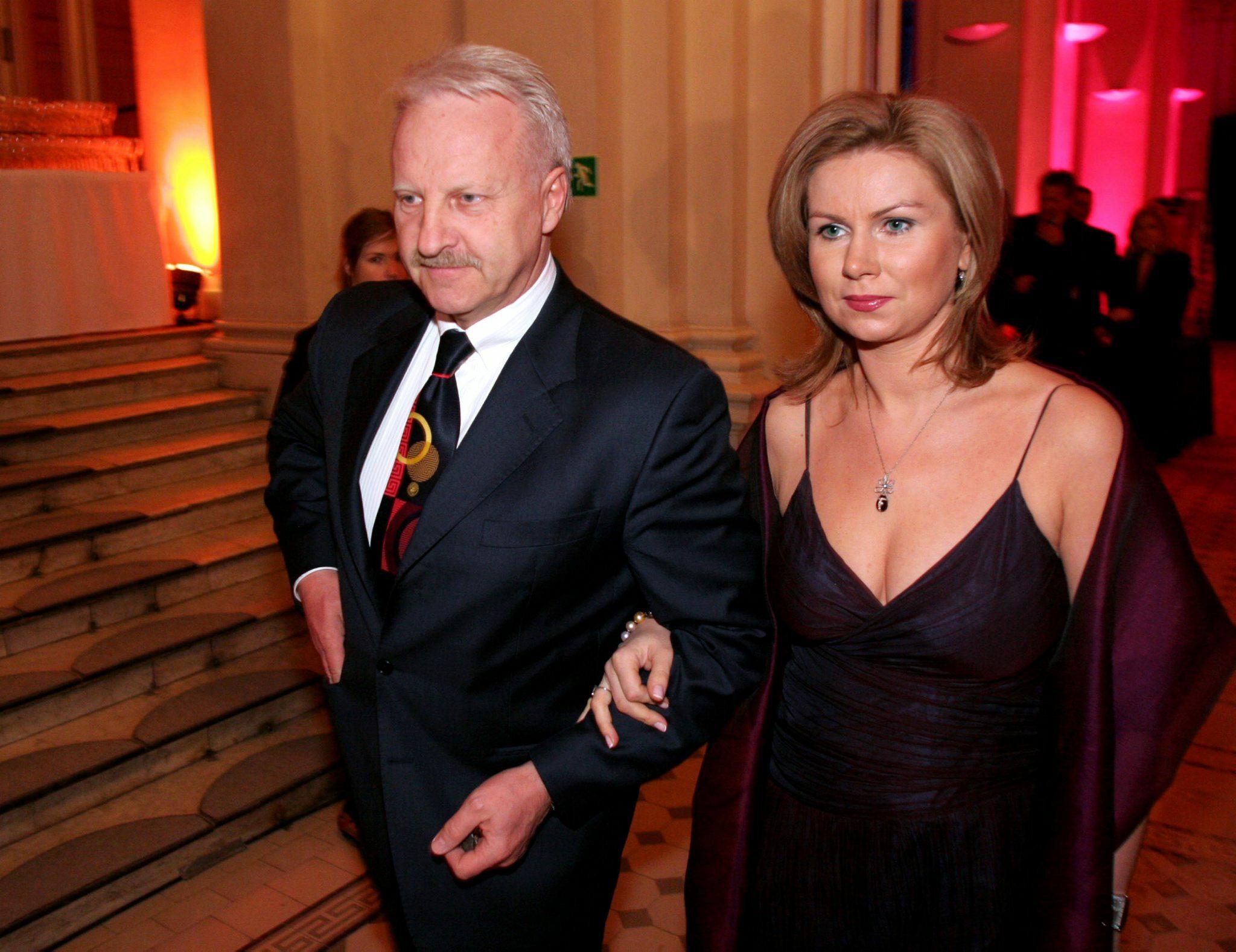 Gen. Sławomir Petelicki z żoną Agnieszką