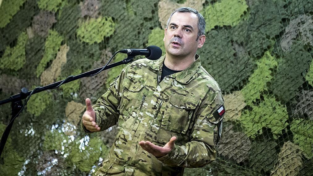 Gen. Wiesław Kukuła, dowódca Wojsk Obron Terytorialnej