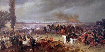 Georg Bleibtreu, Bitwa pod Sadową