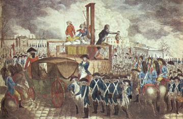 Georg Heinrich Sieveking, Zgilotynowanie Ludwika XVI