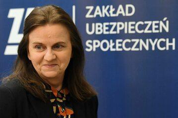 Gertruda Uścińska, prezes ZUS