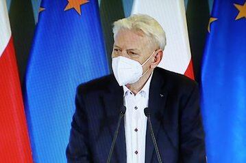 Główny doradca premiera ds. COVID-19 prof. Andrzej Horban