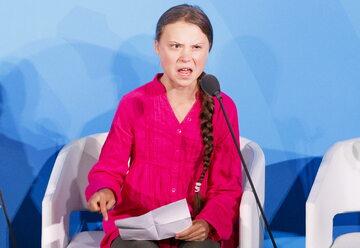 Greta Thunberg na szczycie klimatycznym ONZ