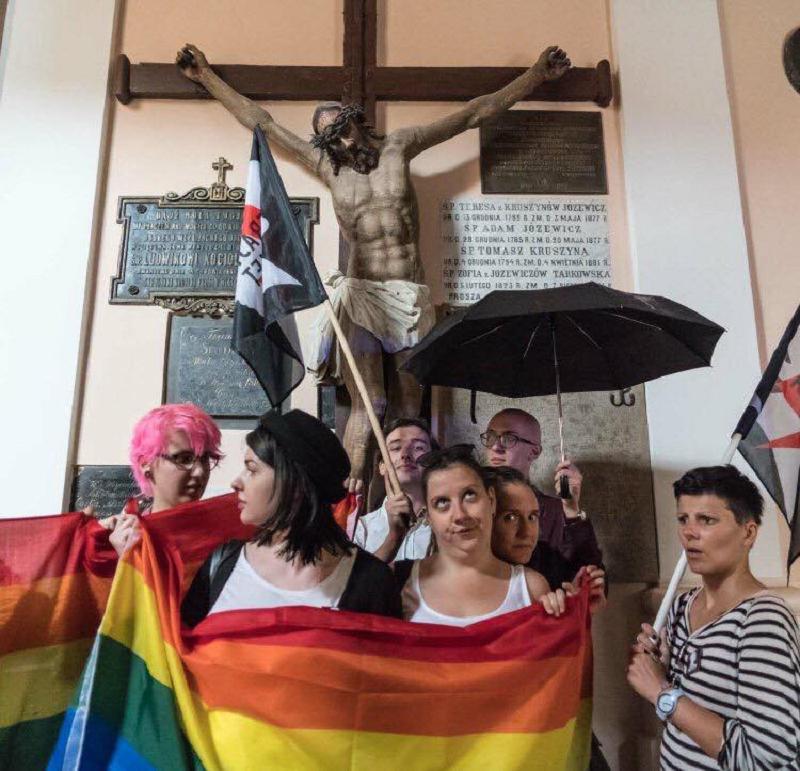 Grupa LGBT w kościele św. Anny