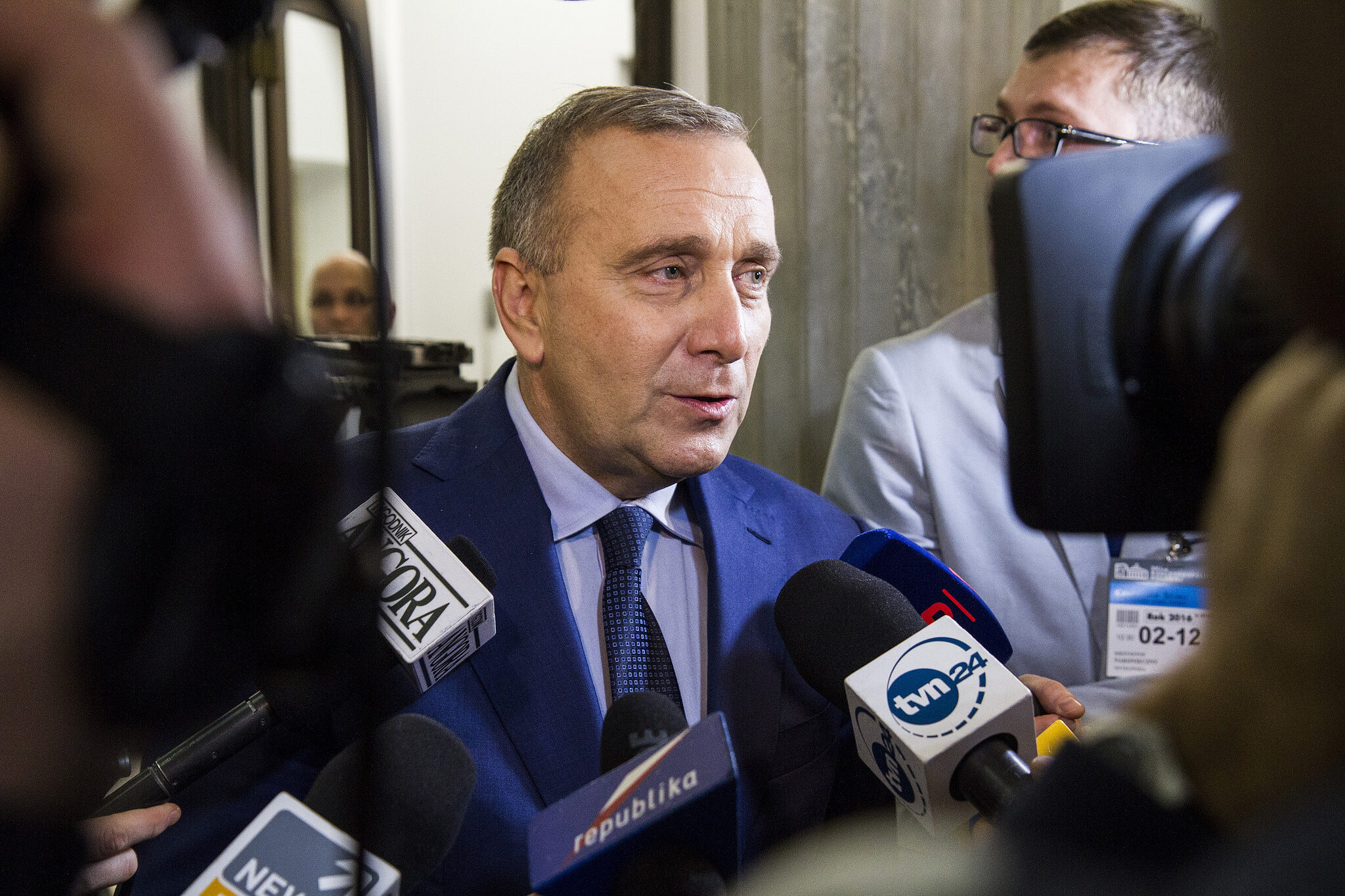 Grzegorz Schetyna, lider PO