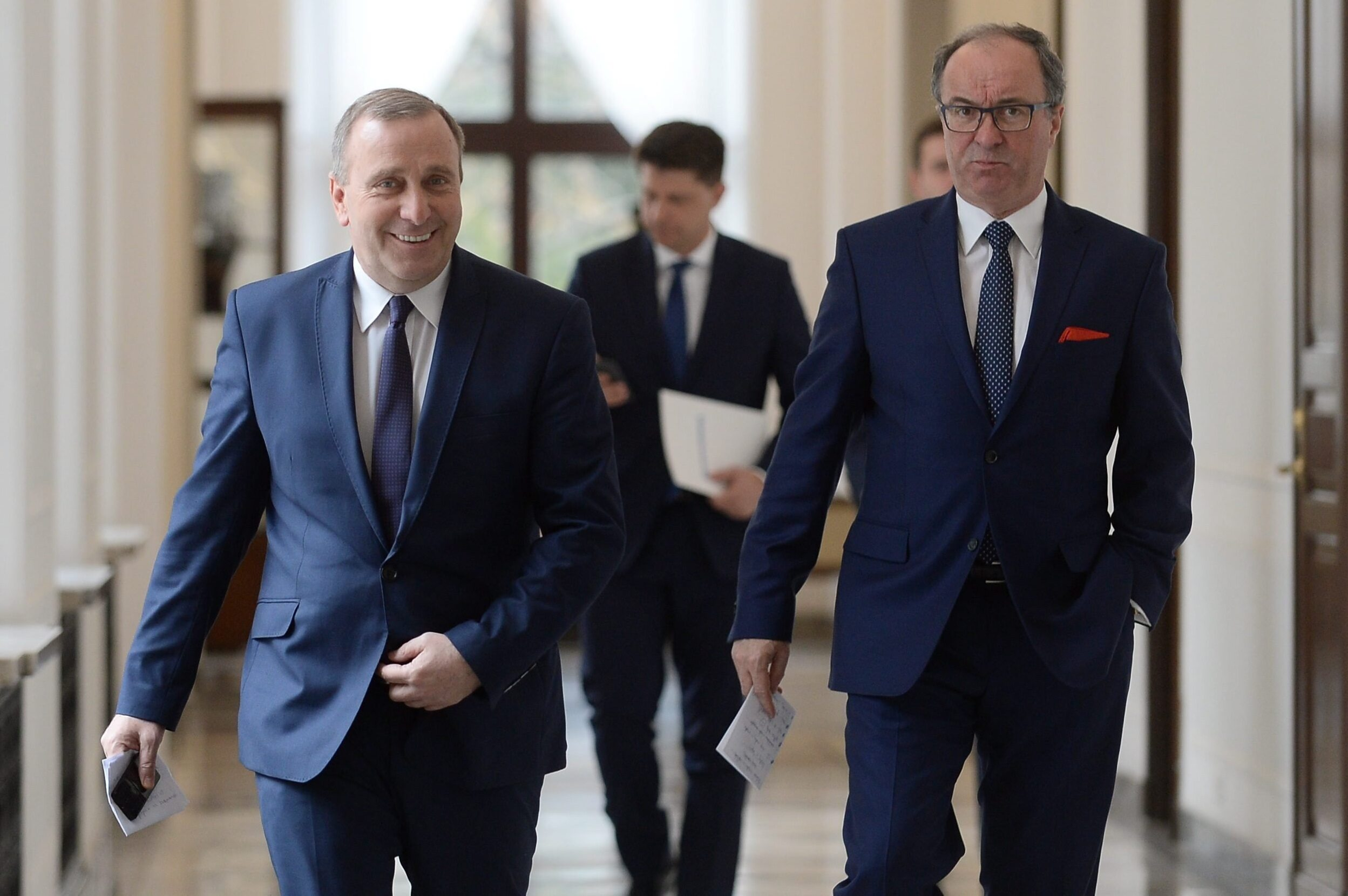 Grzegorz Schetyna, Ryszard Petru, Włodzimierz Czarzasty